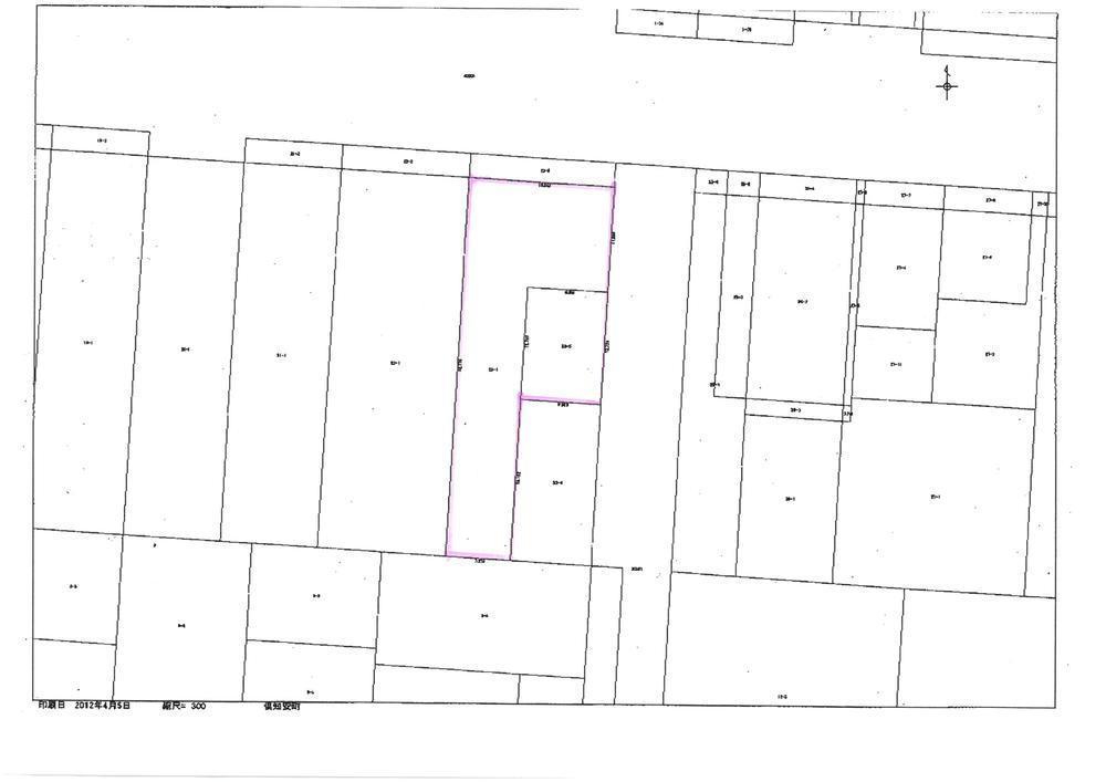 土地価格5500万円、土地面積534.12m<sup>2</sup> 23番5