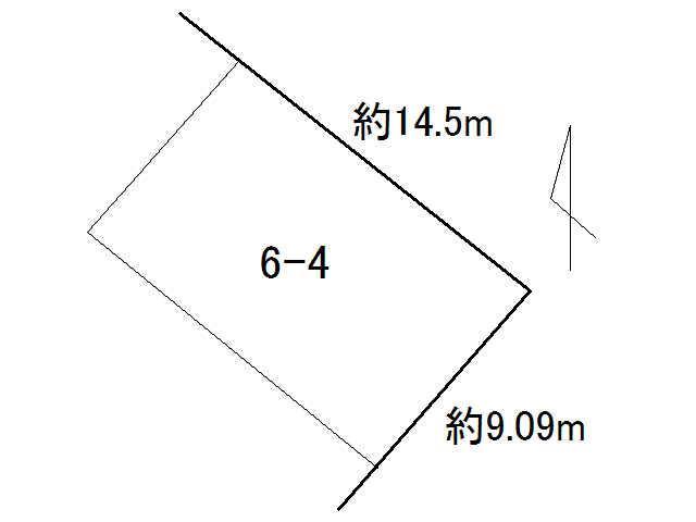 土地価格200万円、土地面積132.27m<sup>2</sup>
