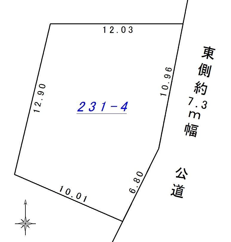 土地価格180万円、土地面積169.81m<sup>2</sup>