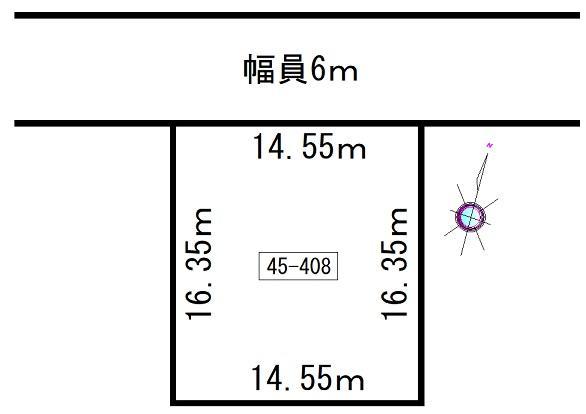 土地価格150万円、土地面積237.81m<sup>2</sup>