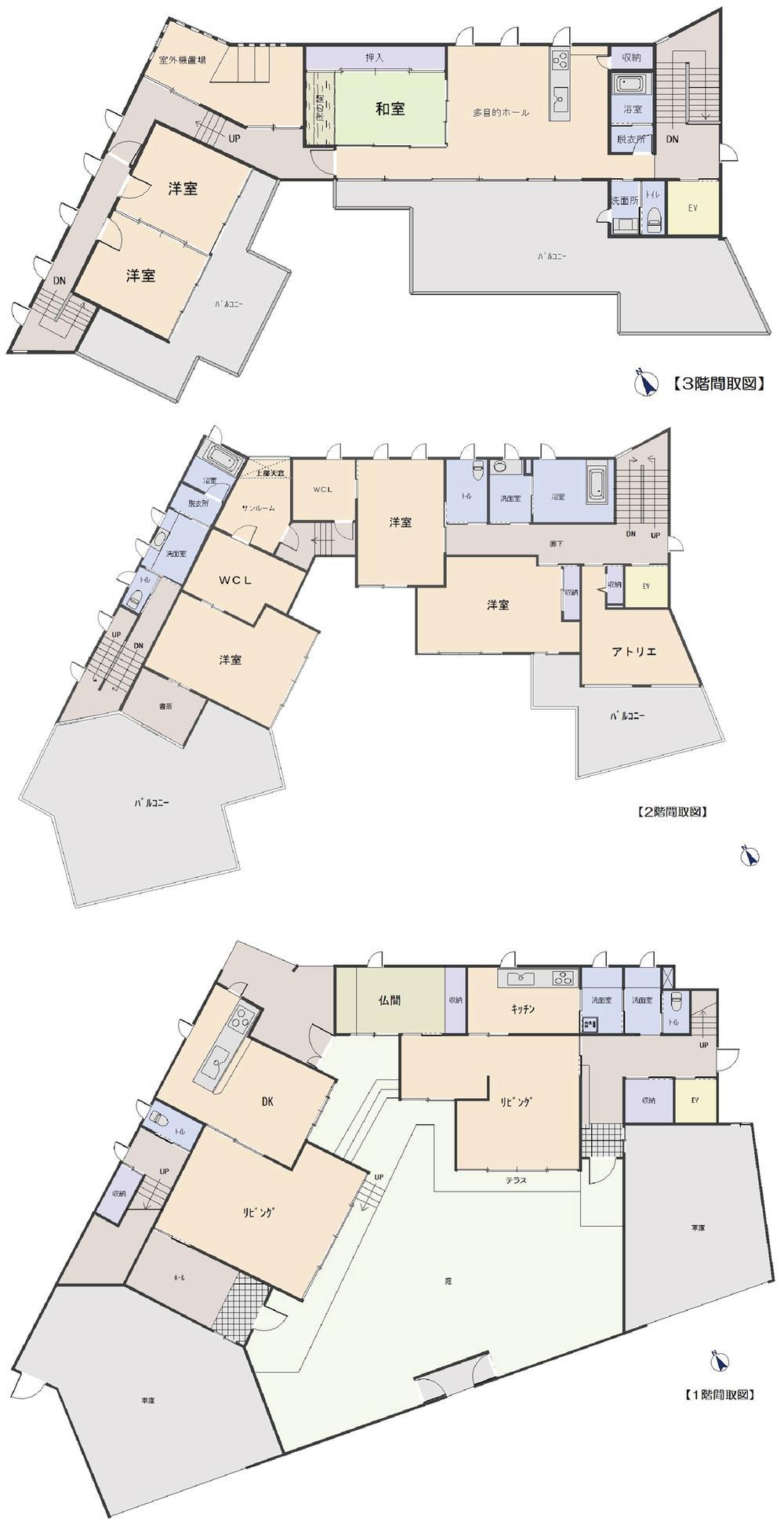 8650万円、9LDK、土地面積560.66m<sup>2</sup>、建物面積562.88m<sup>2</sup>