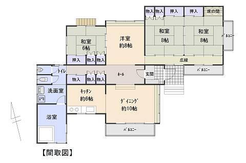 780万円、4LDK、土地面積679m<sup>2</sup>、建物面積129.16m<sup>2</sup>
