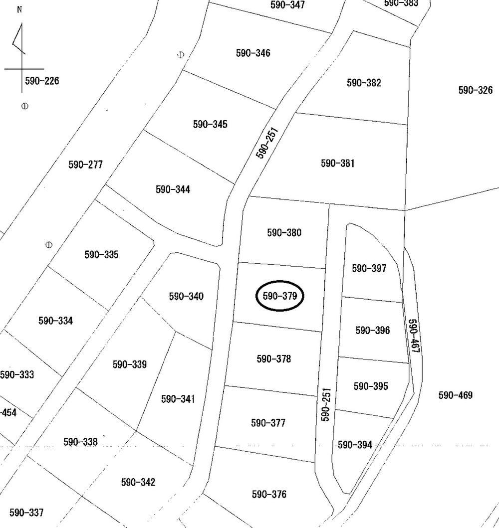 土地価格250万円、土地面積907m<sup>2</sup>