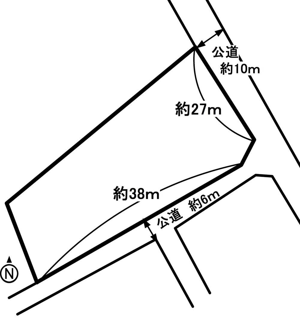 土地価格1100万円、土地面積982.51m<sup>2</sup>