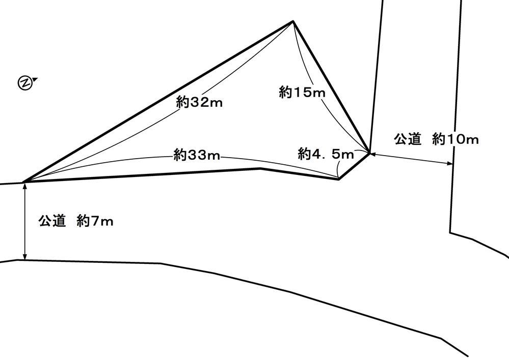 土地価格407万円、土地面積269.3m<sup>2</sup>