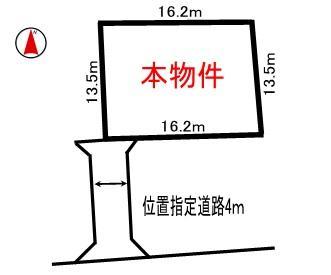 土地価格350万円、土地面積225.27m<sup>2</sup>