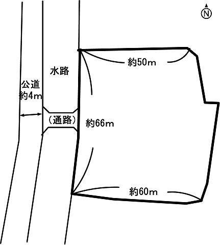 土地価格2000万円、土地面積3,901m<sup>2</sup>