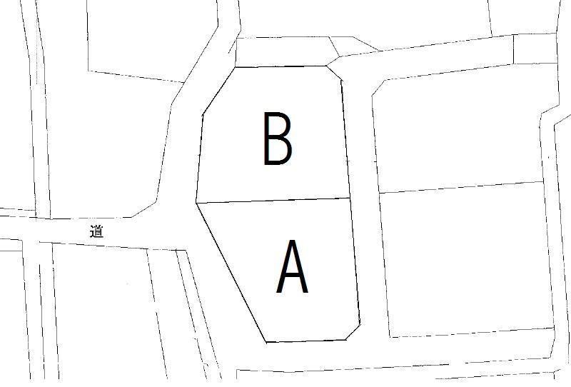 土地価格495万円、土地面積363.91m<sup>2</sup> B