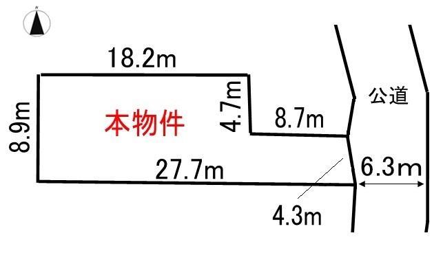 土地価格360万円、土地面積206.88m<sup>2</sup> ●お好きなハウスメーカーで建築可能です!