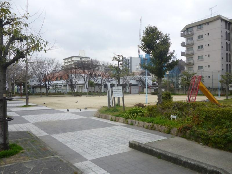 中津公園まで約550m/徒歩7分