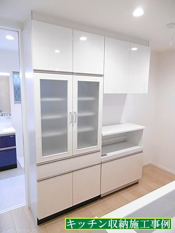 施工事例_キッチン収納
