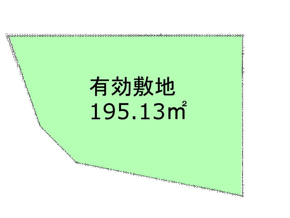 土地価格3500万円、土地面積195.13m<sup>2</sup>