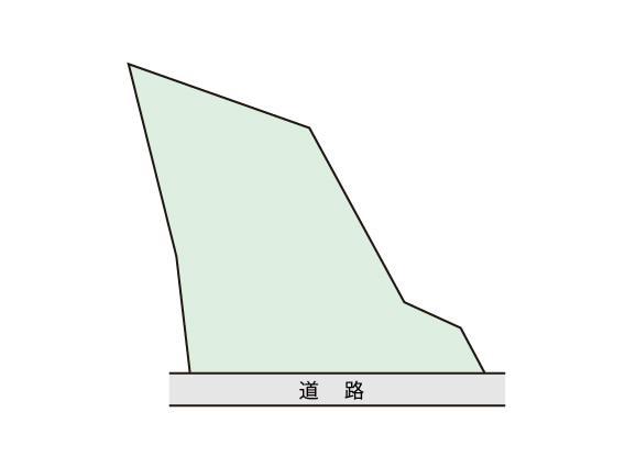 土地価格341万円、土地面積685m<sup>2</sup>