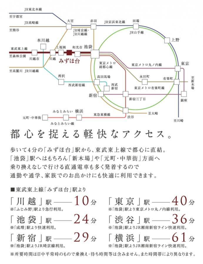 【東武東上線「みずほ台」駅徒歩4分】いい人生に、いい舞台をー。