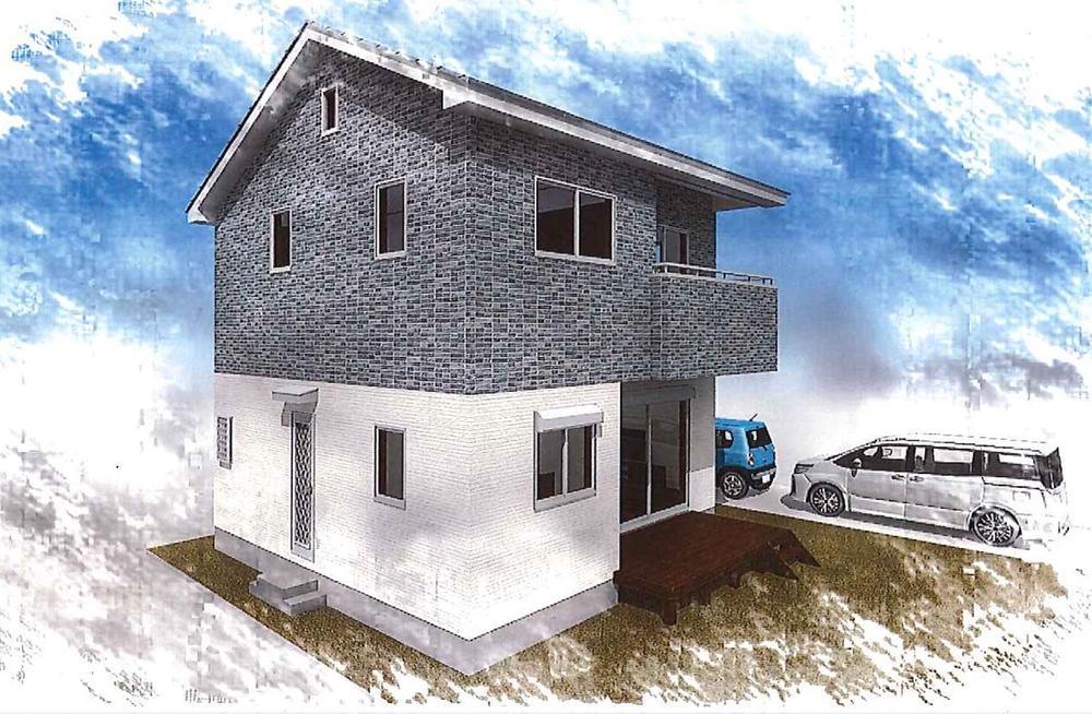 建物プラン例(パース・外観)