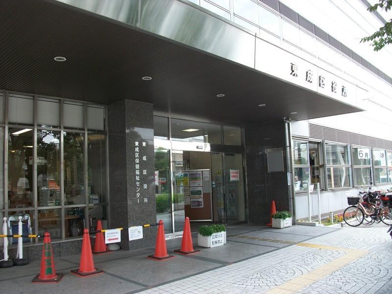 東成区役所まで約550m/徒歩7分