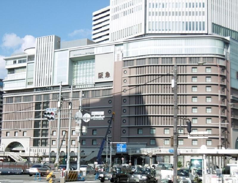 阪急百貨店まで約600m/徒歩8分