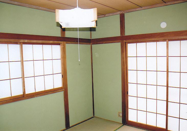 角部屋で日当り良好な和室