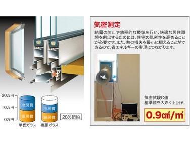 快適性を追求!!断熱効果だけでなく、結露防止にも一躍を担います。