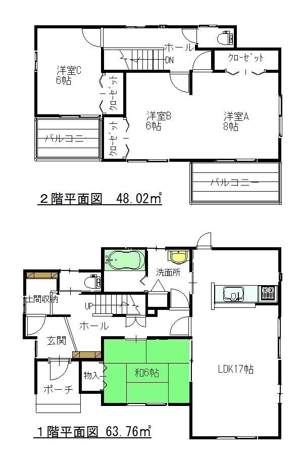 2700万円、4LDK+S(納戸)、土地面積215.3m<sup>2</sup>、建物面積111.78m<sup>2</sup>