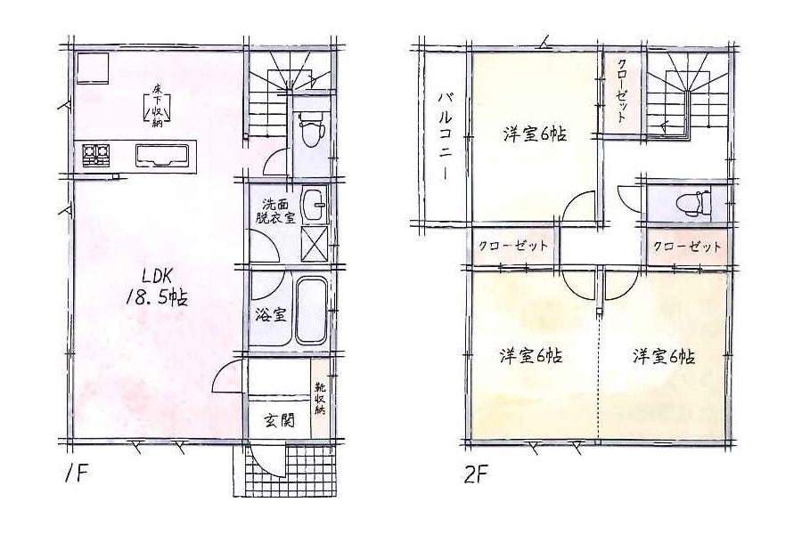 (№25)、価格2660万3000円、2LDK、土地面積166.05m<sup>2</sup>、建物面積89.42m<sup>2</sup>