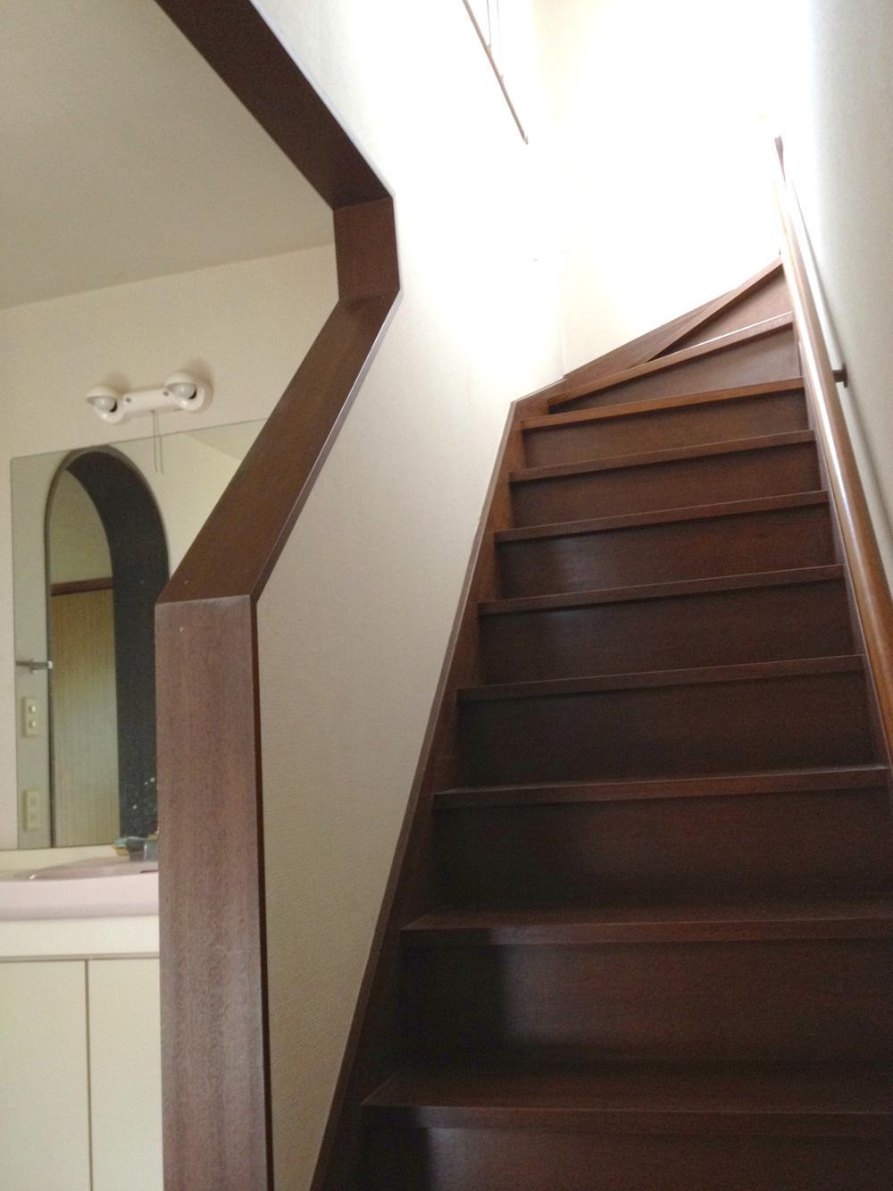 階段(2014年6月撮影)