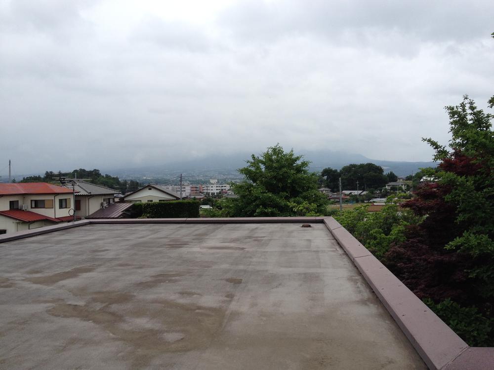 屋上(2014年6月撮影)
