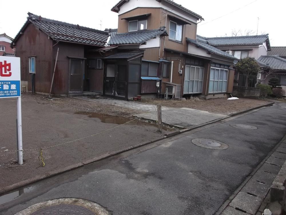 現地(2017年3月)撮影 建物は取壊し<BR>更地渡し
