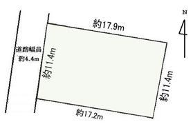 土地価格750万円、土地面積199.65m<sup>2</sup>