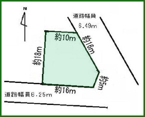 土地価格1445万円、土地面積280.98m<sup>2</sup>