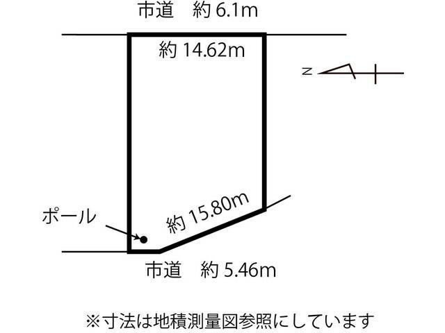 土地価格440万円、土地面積334.3m<sup>2</sup>