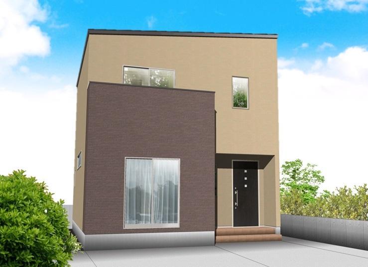 建物プラン例 建物価格1350万円、建物面積93.57m<sup>2</sup>(28.3坪)