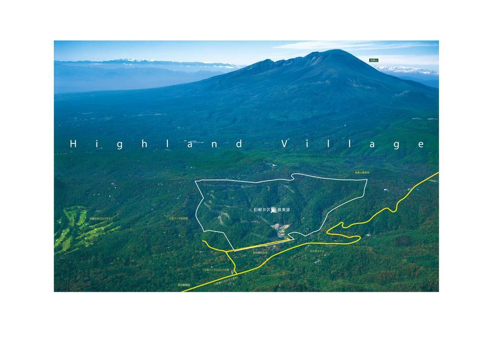 現地からの眺望写真