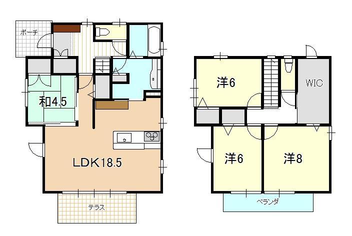 2980万円、4LDK、土地面積161.58m<sup>2</sup>、建物面積112m<sup>2</sup>