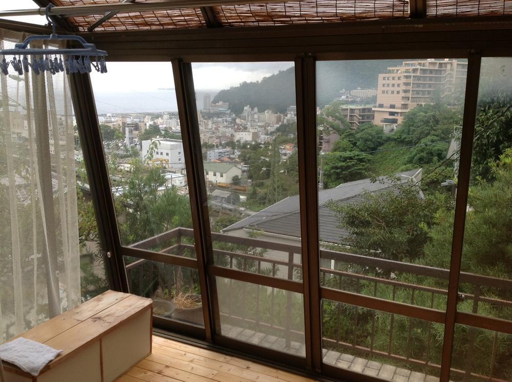 現地からの眺望(2013年10月)撮影