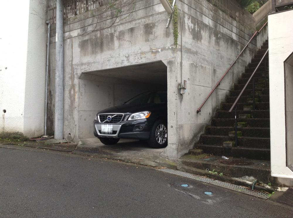 駐車場(2013年10月)撮影
