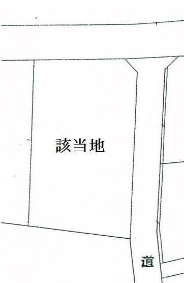 土地価格847万円、土地面積280m<sup>2</sup>