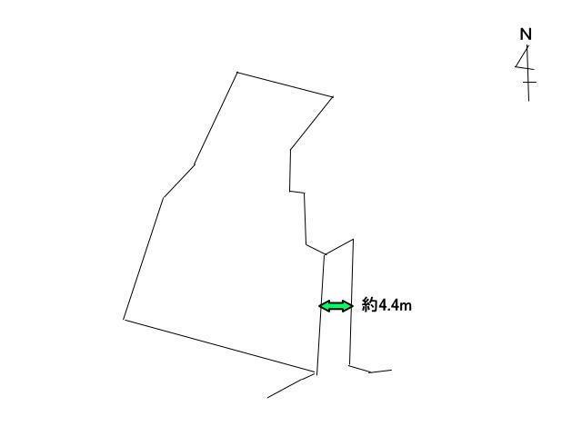 土地価格5000万円、土地面積955.15m<sup>2</sup>