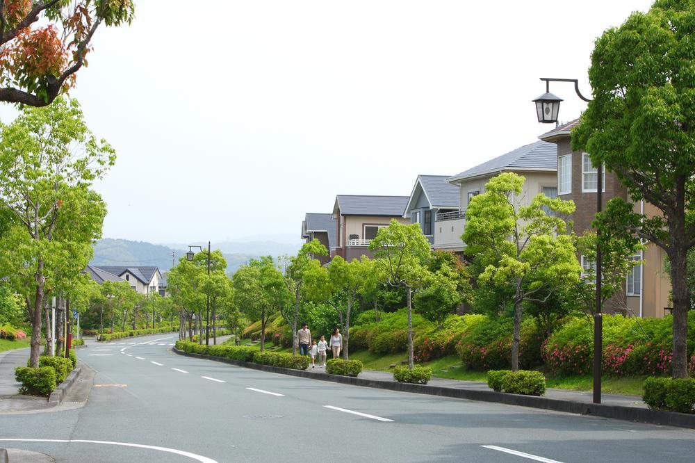 緑に溢れた、美しく心地よい街。