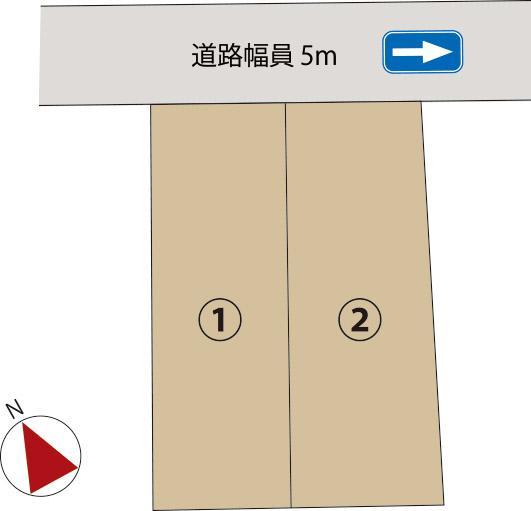 土地価格1480万円、土地面積124m<sup>2</sup>