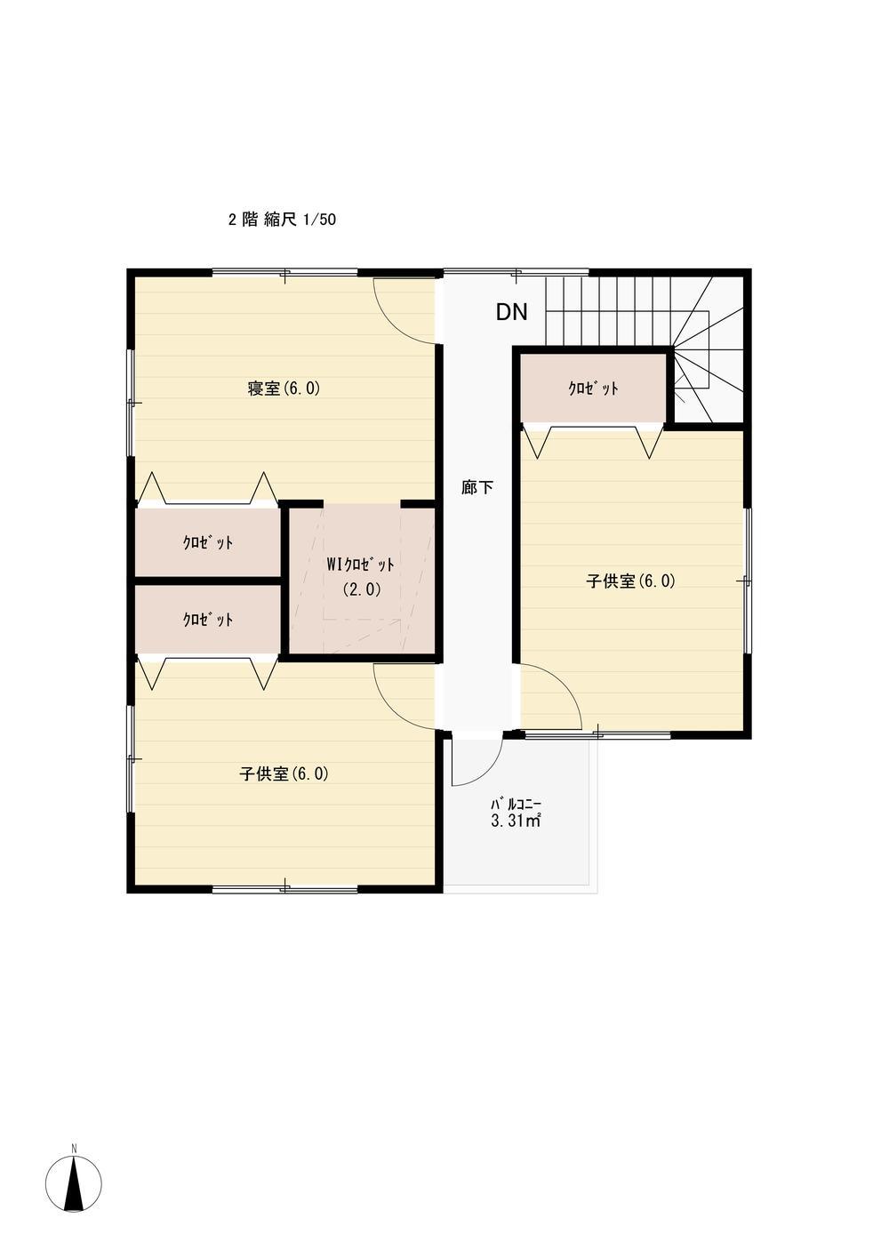 建物プラン例(間取り図)