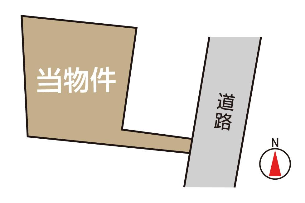 土地価格700万円、土地面積197.95m<sup>2</sup>