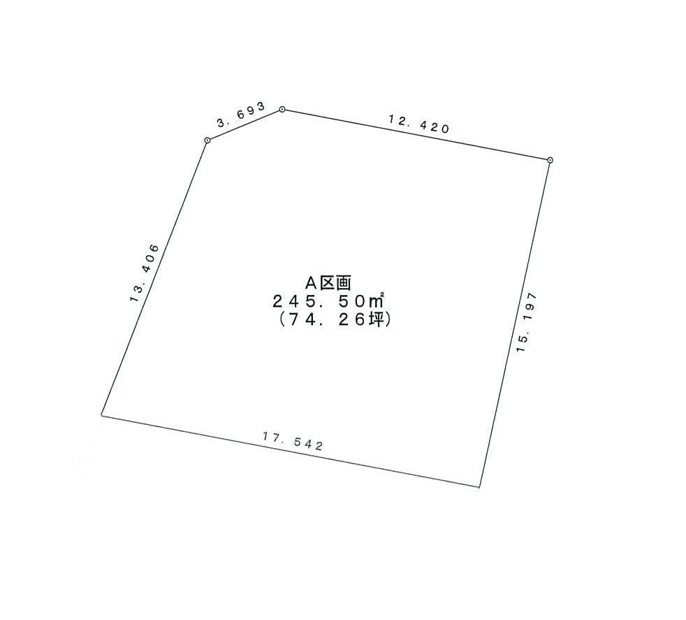 土地価格891万1000円、土地面積245.5m<sup>2</sup>