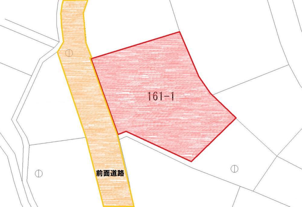 土地価格1280万円、土地面積323.02m<sup>2</sup>