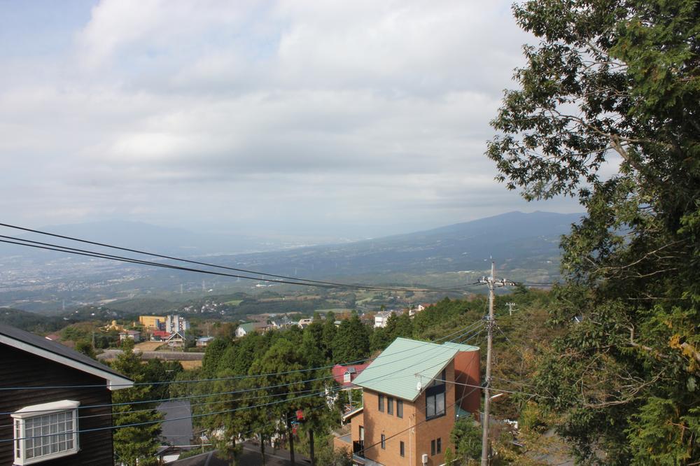 現地からの眺望(2012年10月)撮影