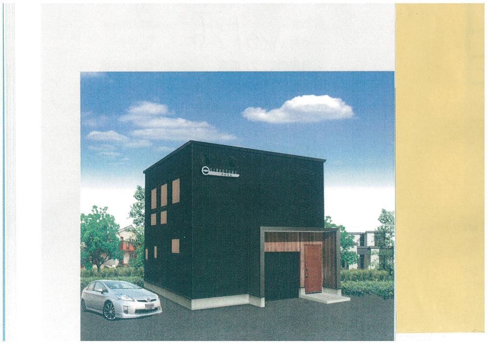 建物プラン例、土地価格80万円、土地面積154.33m<sup>2</sup>、建物価格1660万円、建物面積100m<sup>2</sup> 推奨プラン