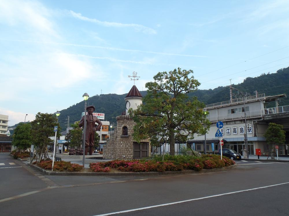 JR湖西線「近江高島駅」まで2800m