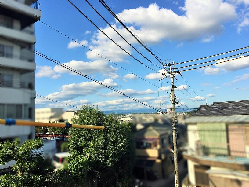 現地からの眺望(2019年5月)撮影