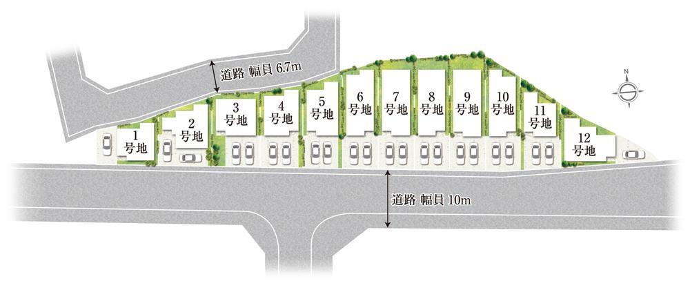 ■全12邸■御堂筋線直結!北大阪急行「緑地公園前」駅より徒歩15分 ~フォルグランツ豊中緑地公園~