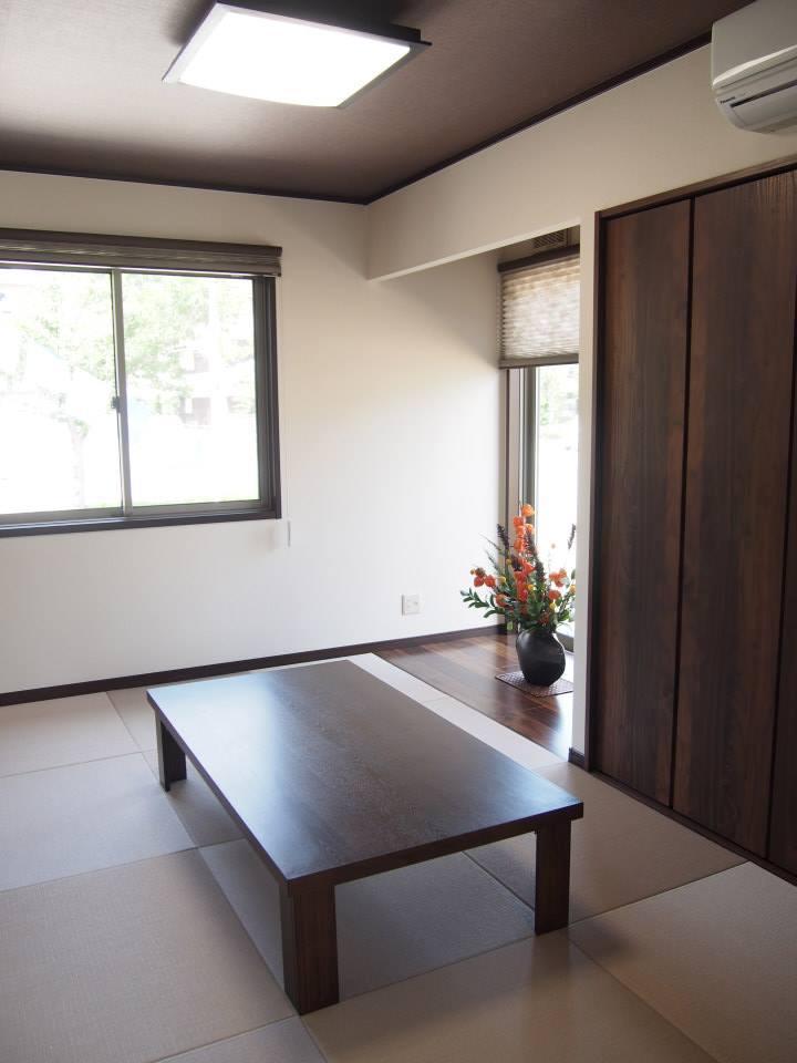 玄関から直接入れる和室は5.3帖あり、急な来客があっても安心です。